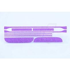 Samsung Galaxy S6 Edge - G925 - Blingbling Design Silicone coque - purple