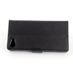 Sony Sony Xperia Z5 Compact Card holder Black Book type case for Sony Xperia Z5 Compact Magnetic closure