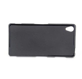 Sony  Xperia Z3 - D6603 - Matt Backcover Silicone case - Black