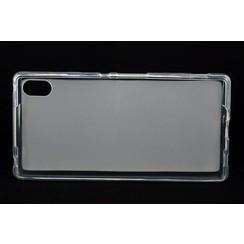 Sony  Xperia Z4 - E6553 - Matt Backcover Silicone coque - Clear