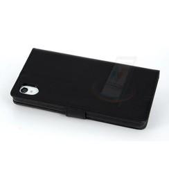 Sony Xperia M4 - M4 - Silicone Business Book case - Black
