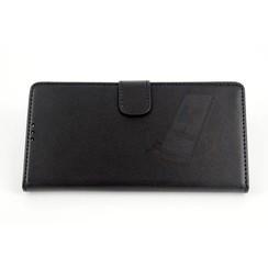 Sony Sony Xperia Z3 Compact Pasjeshouder Zwart Booktype hoesje - Magneetsluiting - Kunststof;TPU