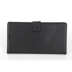 Sony Sony Xperia Z5 Premium Compact Titulaire de la carte Noir Book type housse - Fermeture magnétique