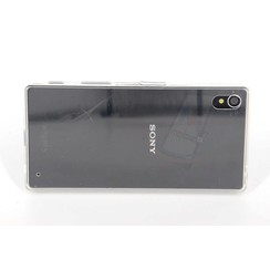 Sony  Xperia Z5 - E5803 - Silicon sides Hard case - Clear