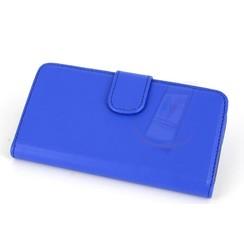 Sony Sony Xperia Z3 Compact Pasjeshouder Blauw Booktype hoesje - Magneetsluiting - Kunststof;TPU