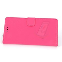 Sony Sony Xperia Z3 Card holder Pink Book type case for Sony Xperia Z3 Magnetic closure