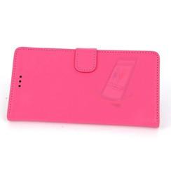 Sony Sony Xperia Z3 Titulaire de la carte Rose Book type housse - Fermeture magnétique