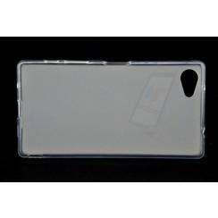 Sony  Xperia Z5 Compact - E5823 - Matt achterkant Silikonhülle - Durchsichtig