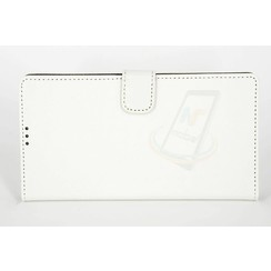 Sony Sony Xperia Z5 Premium Compact Kartenhalter Weiß Book-Case hul -Magnetverschluss - Kunststof;TPU