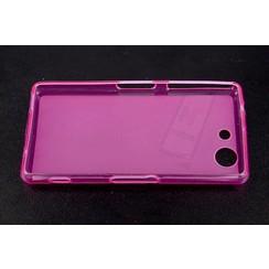 Sony  Xperia Z3 Compact - D5803 - Mat coque Flip coque - rose