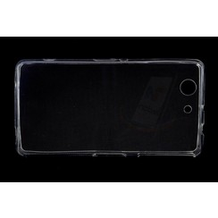 Sony  Xperia Z3 Compact - D5803 - Thin TPU Silicone coque - Clear
