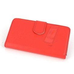 Sony Sony Xperia Z3 Compact Kartenhalter Rot Book-Case hul -Magnetverschluss - Kunststof;TPU