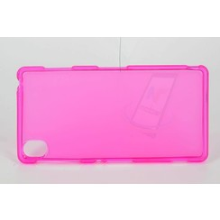Sony Xperia Z3 - D6603 - Mat Back Cover Flip case - Pink