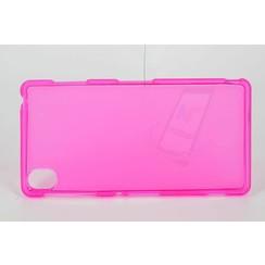 Sony Xperia Z3 - D6603 - Mat coque Flip coque - rose