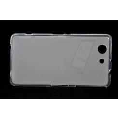 Sony  Xperia Z3 Compact - D5803 - Matt achterkant Silikonhülle - Durchsichtig