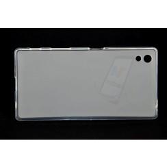 Sony  Xperia Z5 - E5803 - Matt Backcover Silicone coque - Clear