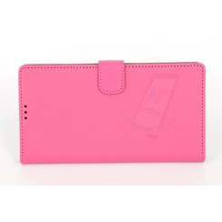 Sony Sony Xperia Z5 Premium Compact Kartenhalter Pink Book-Case hul -Magnetverschluss - Kunststof;TPU