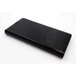 Sony Sony Xperia C5 Ultra Pasjeshouder Zwart Booktype hoesje - Magneetsluiting - Kunststof;TPU