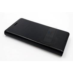 Book case voor Xperia M4 - Zwart