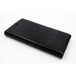 Sony Sony Xperia Z3 Pasjeshouder Zwart Booktype hoesje - Magneetsluiting - Kunststof;TPU