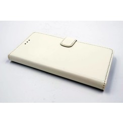 Sony Sony Xperia XZ Titulaire de la carte Blanc Book type housse - Fermeture magnétique