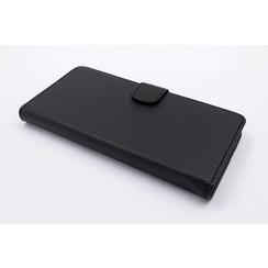 Sony Sony Xperia XA1 Card holder Black Book type case for Sony Xperia XA1 Magnetic closure