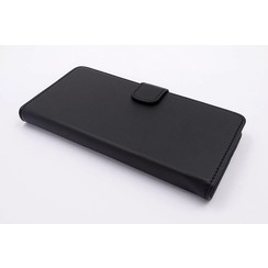 Sony Sony Xperia XA1 Kartenhalter Schwarz Book-Case hul -Magnetverschluss - Kunststof;TPU