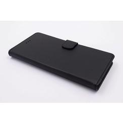 Sony Sony Xperia XZ Premium Titulaire de la carte Noir Book type housse - Fermeture magnétique