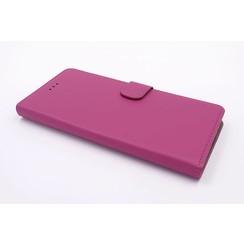Sony Sony Xperia XZ Premium Titulaire de la carte Rose Book type housse - Fermeture magnétique