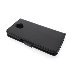 Wiko Wiko Wim Card holder Black Book type case for Wiko Wim Magnetic closure
