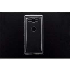 Silicone case for Xperia XZ2 Compact - Transparent (8719273268568)