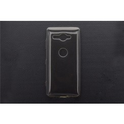 Silikonhülle für Xperia XZ2 Compact - Schwarz (8719273268575)