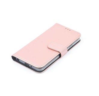 Sony Sony Xperia XZ2 Compact Pasjeshouder Roze Booktype hoesje - Magneetsluiting - Kunststof;TPU