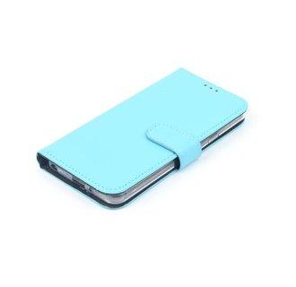 Sony Sony Xperia XZ2 Compact Pasjeshouder Blauw Booktype hoesje - Magneetsluiting - Kunststof;TPU