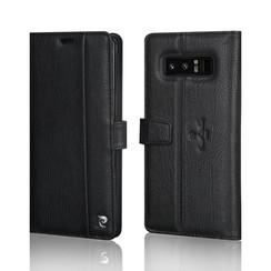 Pierre Cardin Book case voor Samsung Galaxy Note 8 - Zwart