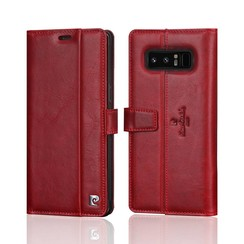 Pierre Cardin book case for Samsung Note 8 - Red (8719273140949)