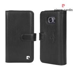 Samsung Galaxy S7 Titulaire de la carte Noir Book type housse - Fermeture magnétique