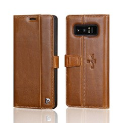 Pierre Cardin book case for Samsung Note 8 - Brown (8719273140932)