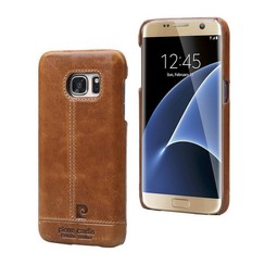 Samsung Galaxy S7 - G930F - Pierre Cardin Hard case - Brown (8719273213810)