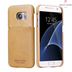 Samsung Galaxy S7 - G930F - Pierre Cardin Hard coque - Yellow (8719273214121)
