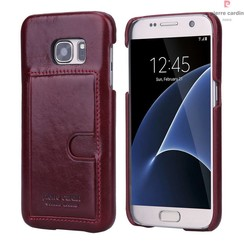 Samsung Galaxy S7 - G930F - Pierre Cardin Hard coque - rouge (8719273214428)