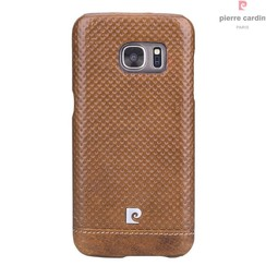 Samsung Galaxy S7 - G930F - Pierre Cardin Hard case - Brown (8719273215005)