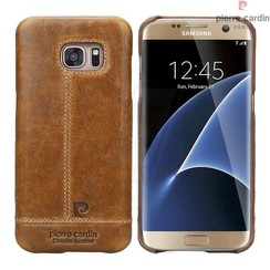 Samsung Galaxy S7 Edge - G935F - Pierre Cardin Hard coque - marron (8719273213872)