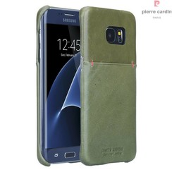 Samsung Galaxy S7 Edge - G935F - Pierre Cardin Hard case - Green (8719273214190)