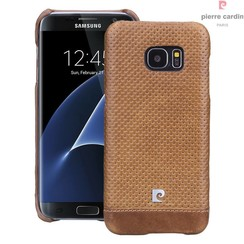 Samsung Galaxy S7 Edge - G935F - Pierre Cardin Hard coque - marron (8719273215036)