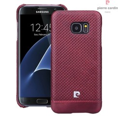 Samsung Galaxy S7 Edge - G935F - Pierre Cardin Hard case - Red (8719273215043)