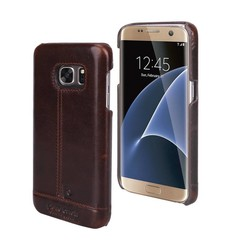 Samsung Galaxy S7 - G930F - Pierre Cardin Hard case - D Brown (8719273213827)
