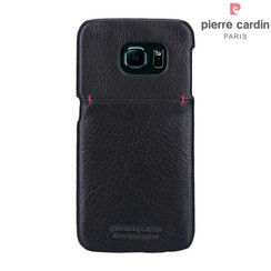 Samsung Galaxy S6 Edge - G925 - Pierre Cardin Hard case - Black (8719273214060)