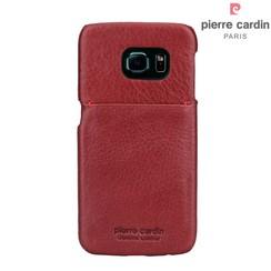 Samsung Galaxy S6 Edge - G925 - Pierre Cardin Hard coque - rouge (8719273214084)