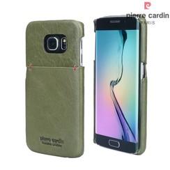 Samsung Galaxy S6 Edge - G925 - Pierre Cardin Hard case - Green (8719273214091)